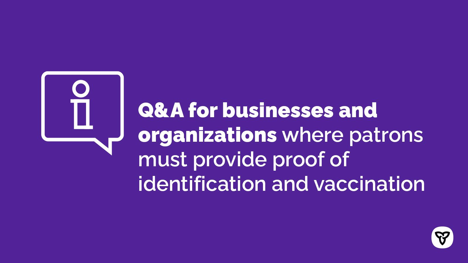 Businesses and Organizations guidance on VaxCertificates
