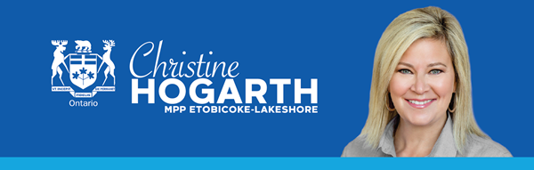 Christine Hogarth, MPP Etobicoke-Lakeshore