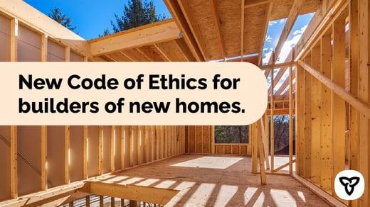 New Code of Ethics