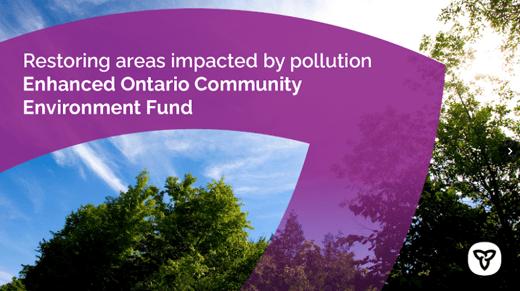 Ontario Community Environment Fund