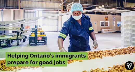 Helping newcomers in Ontario