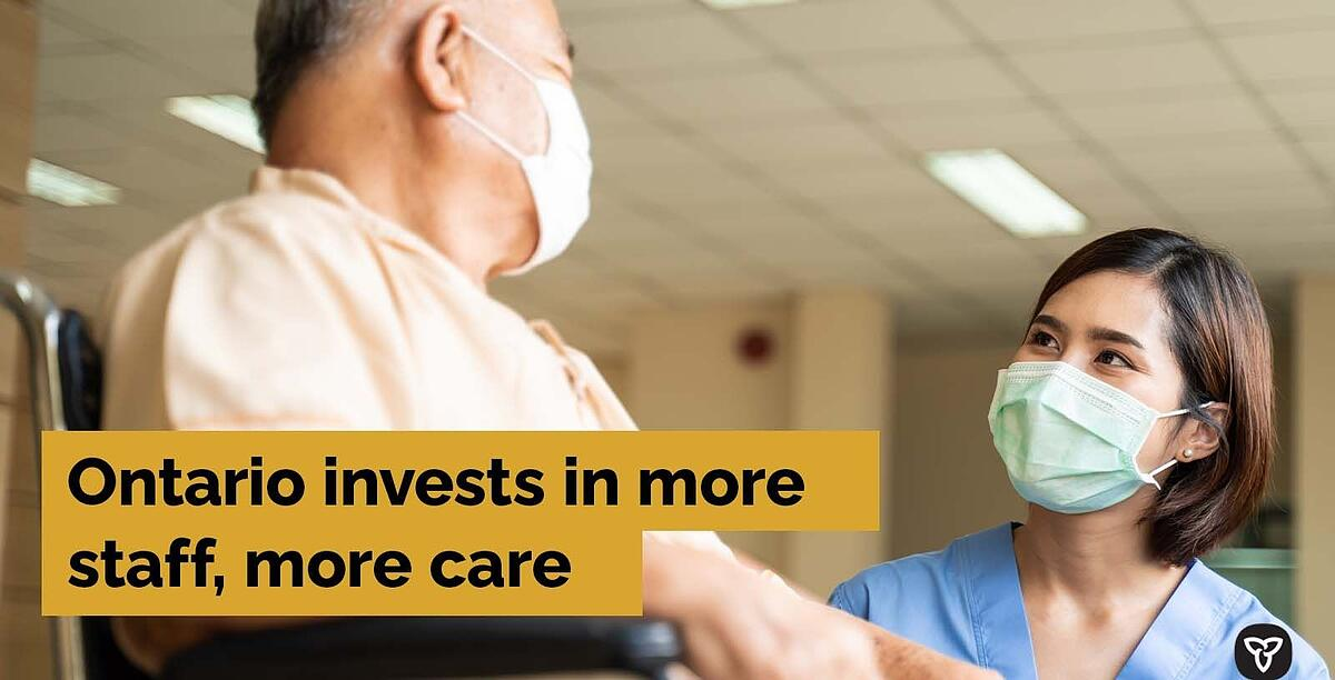 Investing in Ontario's Long-Term Care Sector